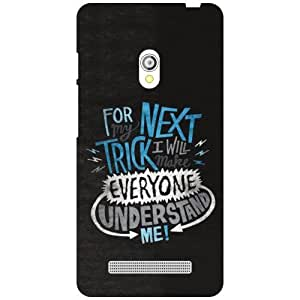 Asus Zenfone 5 A501CG Back Cover - Understand Me Designer Cases