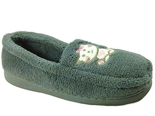 Jo & Joe - Pantofole da ragazza' donna , grigio (Grey), 39
