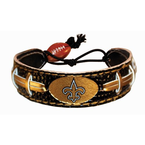 New Orleans Saints Team Color NFL Football Bracelet at Amazon.com