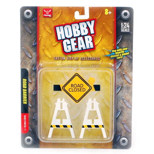 """Hobby Gear"" Road Barrier Series-1 1:24 Scale"