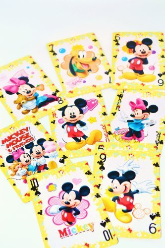 DISNEY MICKEY & FRIENDS POKER CARD - 1