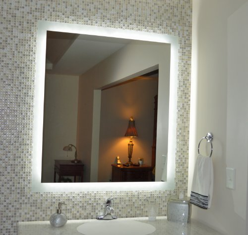 Makeup Vanity With Light Bulbs front-670842