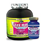 Advance Nutratech L-taurine 100gm Pack Unflavoured & Lean Mass Gainer 1KG Banana Combo Offer