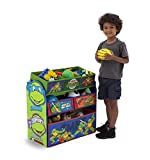 Delta Children Multi Bin Toy Organizer, Ninja Turtles