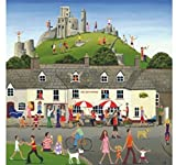 Wentworth New Jigsaw Puzzle 200 Pieces Louise Braithwaite - Corfe Castle