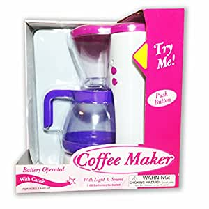 Coffee Maker Car Battery : Amazon.com: Coffee Maker Battery Operated with Lights and Sounds: Toys & Games