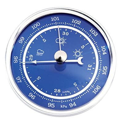 "2 3/4"" Silver Bezel Inserts : Barometer by Klockit"