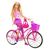 Barbie T2332 Barbie Glam Bike Barbie With Glam Bike