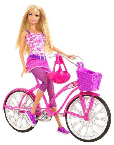 mattel t   barbiebarbie bike