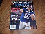Maple Street Press magazine, New York Giants, Annual 2010-Eli Manning photo on cover.