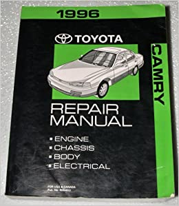 1996 toyota camry factory repair manual sxv10 mcv10 series complete volume toyota motor. Black Bedroom Furniture Sets. Home Design Ideas