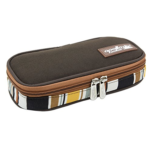 Goldwheat Portable Insulin Cooler Bag Diabetic Organizer Medical Travel Cooler (Brown) (Diabetic Insulin Cooler compare prices)