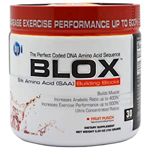 BPI Blox Fruit Punch 30 Servings