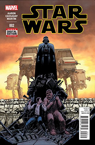 Star Wars #2 2015 First Printing Marvel Comic based on the Original Trilogy Characters (Marvel Star Wars 2 Han Solo compare prices)