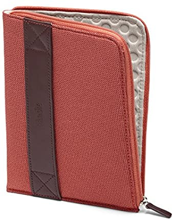Funda con cremallera Amazon para Kindle, color coral (sirve para Kindle Paperwhite, Kindle y Kindle Touch)
