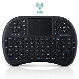 Mini Teclado Inalámbrico Bluetooth 2.4GHz de VicTsing (Diseño Español) con ratón touchpad
