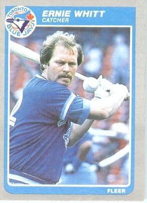 1985 Fleer #119 Ernie Witt Toronto Blue Jays Baseball Card