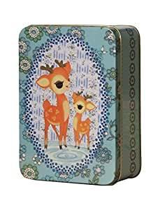 Froy and Dind Medium Rectangular Tin - Bambi