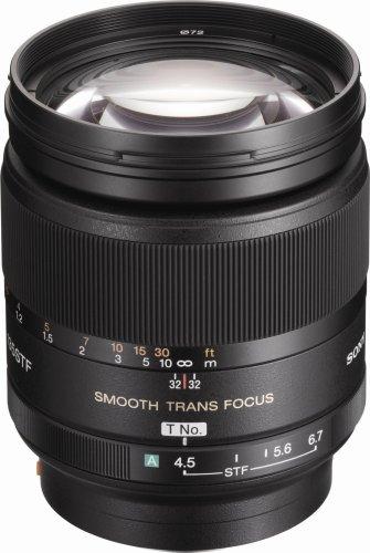 Sony SAL-135F28 135mm f/2.8 (T4.5) STF Telephoto Lens for Sony Alpha Digital SLR Camera