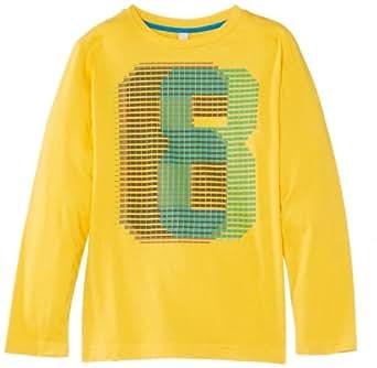 ESPRIT Boy's 024EE6K007 T-Shirt, Sun Yellow, 13 Years (Manufacturer Size:Medium)