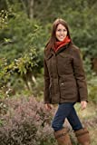 Sherwood Forest Women's Hampton Shooting Jacket - Brown, Size 12
