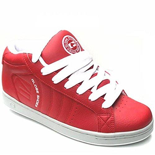 GLOBE Focus Mid, colore: rosso/bianco, Rosso (rosso), 48