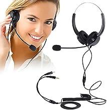 PChero® Centro de llamadas Teclado Auricular de teléfono con tono de marcación Teclado y REDIAL