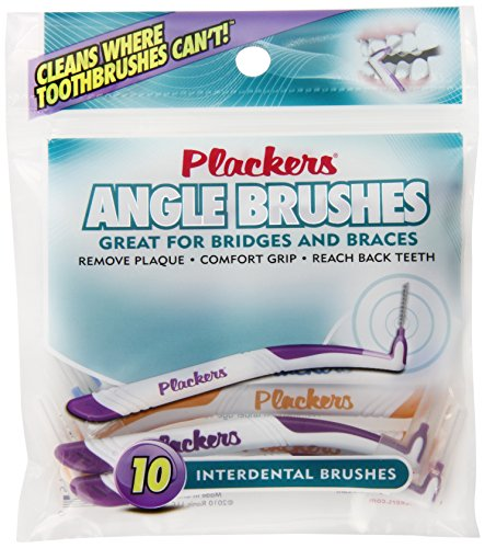 Plackers Interdental Brush, 10 Count