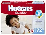 Huggies Snug and Dry Diapers, Size 5,...