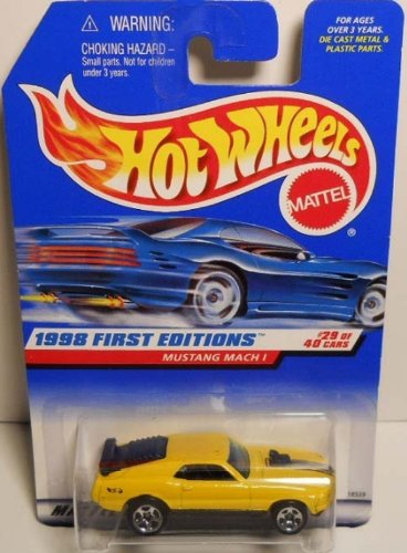 Hot Wheels 1998 First Editions #29 Mustang Mach 1