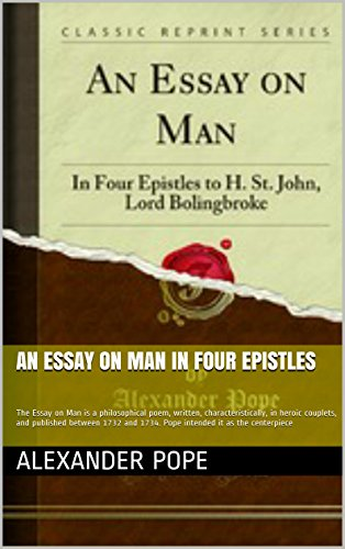 an essay on man in four epistles epistle 1