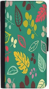 Snoogg Blue Pattern Designer Protective Phone Flip Back Case Cover For Xiaomi Redmi Note 3