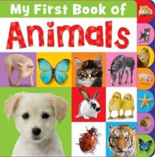 My First Book of Animals Tabbed Book