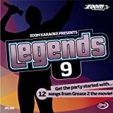 Zoom Karaoke CD+G - Legends 9: Grease 2 Soundtrack [Card Wallet]