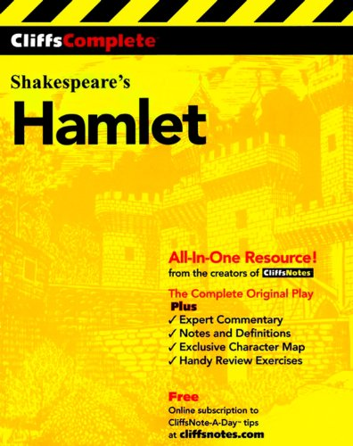 CliffsComplete Shakespeare's Hamlet book cover