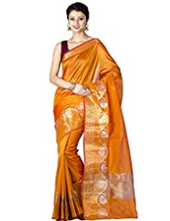 Chandrakala Pure Banarasi Weaves- Beautiful Faux Silk Saree