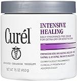 Curel Daily Cream Intensive Healing Fragrance-Free - 16 OZ