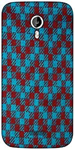 Snoogg Zig Zag design 2375 Designer Protective Back Case Cover For Micromax A116