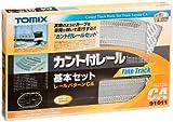 カント付レー (レールパターンCA) (鉄道模型) トミーテック 91011