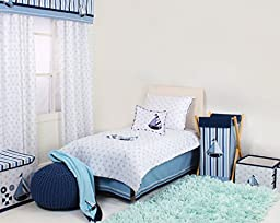 Bacati - Little Sailor 4 Pc Toddler Bedding Set