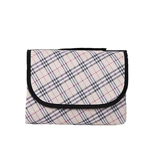 honeystore-compact-travel-stylish-tartan-picnic-blanket-tote-picnic-rugs-waterproof-sandproof-plaid-