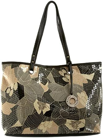 Nine West One Stop Tote,Black/Ivory,one size