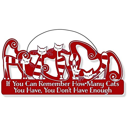 Cool Cats Cat-Gang Shaped Laser-Etched 3-In-1 Plaques Ver2 Not Enough Red front-436623
