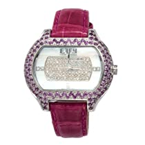 Effy So-Ho Diamond/Amethyst 3.91 Tcw. Mother-of-Pearl Dial Ladies Watch #Z00Z247DX0