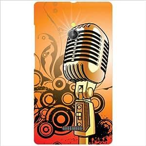 Nokia XL RM-1030/RM-1042 Back Cover - Microphone Designer Cases