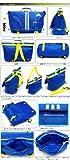 adidas アディダス Kid's 3WAYバッグ IX686 (X45618プライムブルー/サン)