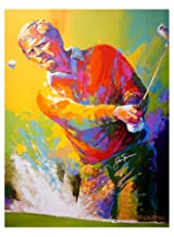 Jack Nicklaus Autographed Stretch Giclee Lithograph