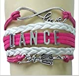 Dance Bracelet- Girls Dance Jewelry – Perfect Gift For Dance Recitals