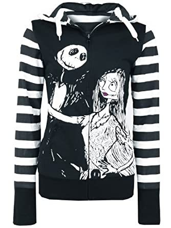 Nightmare Before Christmas Nbch Sally Reversible Jacket Black/White ...
