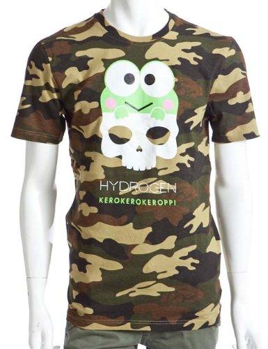 HYDROGEN メンズ Tシャツ 半袖 (P810020N1)【M-迷彩】 並行輸入品